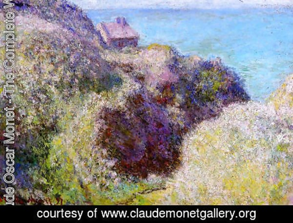 Claude Oscar Monet - The Gorge at Varengeville, Late Afternoon