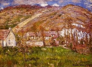 Claude Oscar Monet - The Hamlet of Falaise, near Giverny