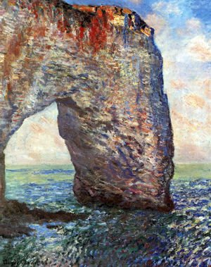 Claude Oscar Monet - The Manneport, Etretat