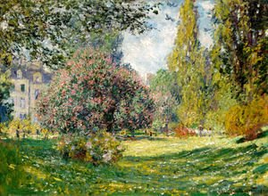Claude Oscar Monet - The Parc Monceau, Paris 1