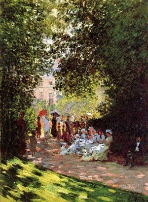 Claude Oscar Monet - The Parc Monceau, Paris 2