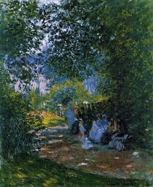 Claude Oscar Monet - The Parc Monceau, Paris 3