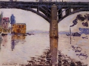 Claude Oscar Monet - The Road Bridge at Argenteuil 2