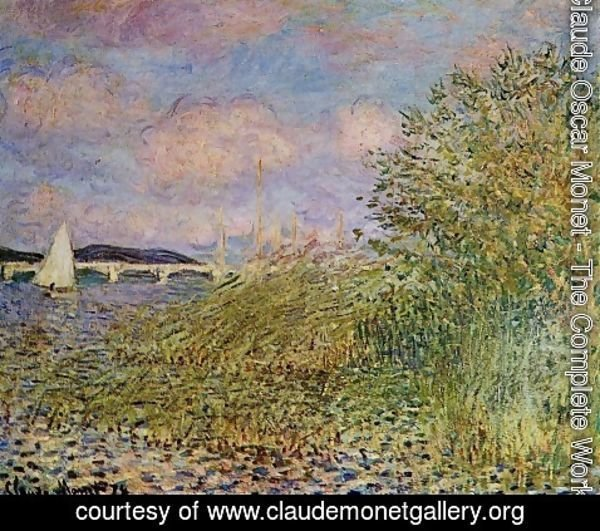 Claude Oscar Monet - The Seine at Argenteuil 1