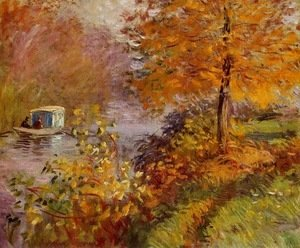 Claude Oscar Monet - The Studio Boat 2