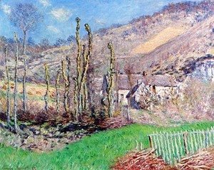 Claude Oscar Monet - The Val de Falaise, Giverny