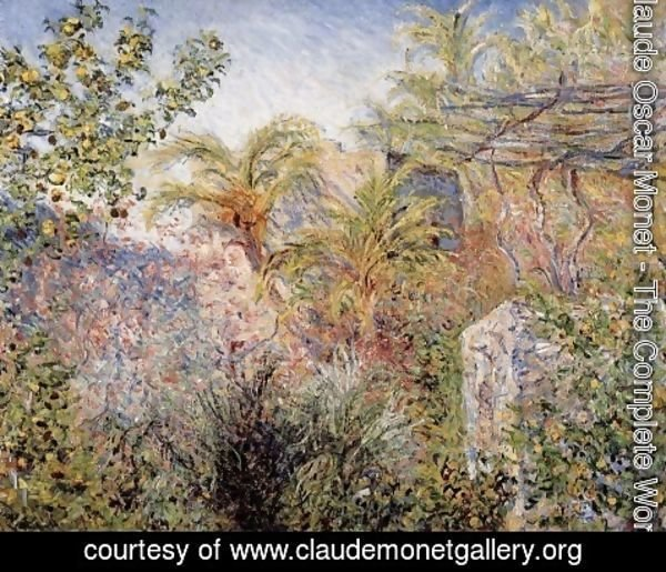 Claude Oscar Monet - The Valley of Sasso, Bordighera 1