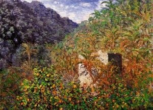 Claude Oscar Monet - The Valley of Sasso, Bordighera 2