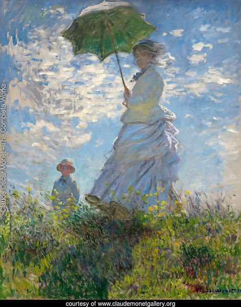 The Woman With The Parasol