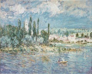 Claude Oscar Monet - Thunderstorms