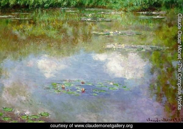 Water Lilies (The Clouds) (1903)