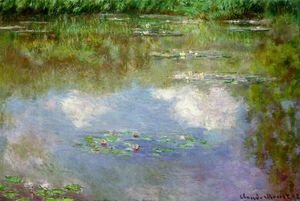 Claude Oscar Monet - Water Lilies (The Clouds) (1903)