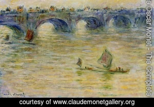 Claude Oscar Monet - Waterloo Bridge 1