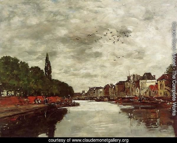 A Canal near Brussels 1871