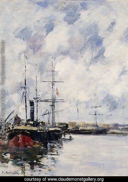 A Corner of the Deauville Basin 1894-1897