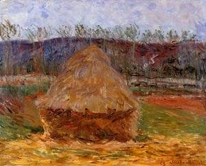 Claude Oscar Monet - Grainstacks at Giverny 1889