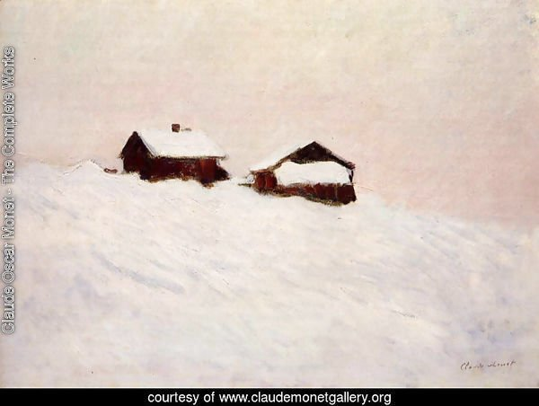 Houses in the Snow 1895