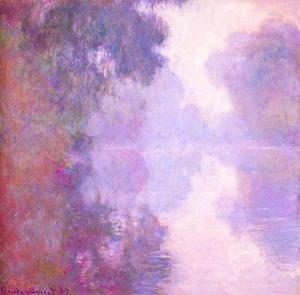 Claude Oscar Monet - Misty morning on the seine 1892