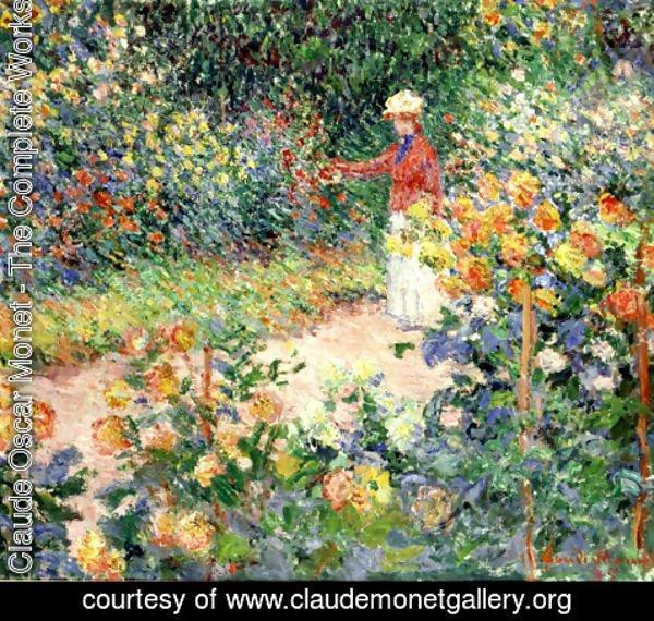 Claude Oscar Monet   Monetu0027s Garden At Giverny