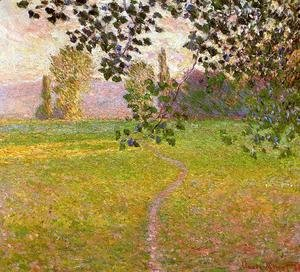 Morning Landscape Giverny 1888