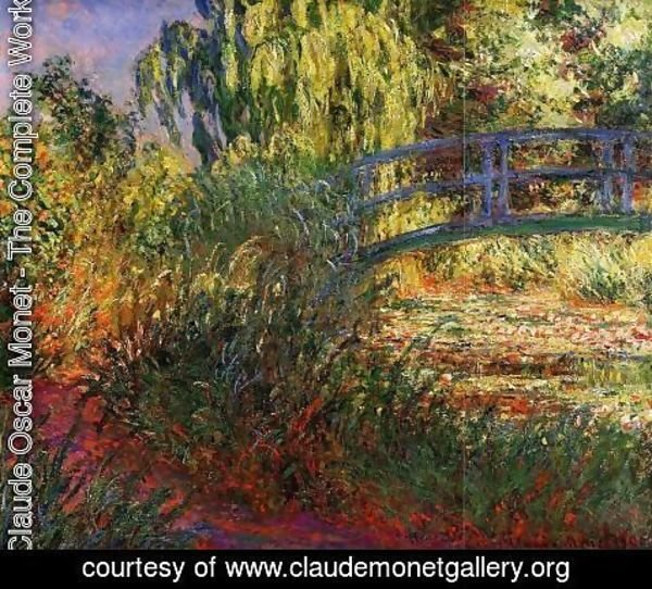 Claude Oscar Monet - Path along the Water-Lily Pond 1900