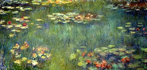 Claude Oscar Monet - Pool with Waterlilies