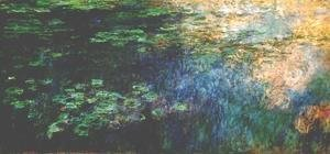 Reflections of Clouds on the Water-Lily Pond (triptych left panel) 1920-1926
