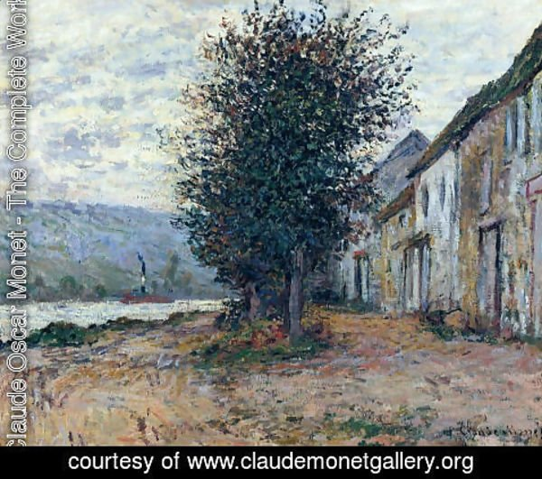Claude Oscar Monet - The Banks of the Seine at 1878