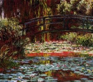 Claude Oscar Monet - The Bridge over the Water-Lily Pond 1900