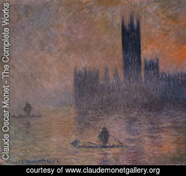 The Houses of Parliament (Effect of Fog) 1903