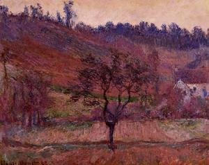 Claude Oscar Monet - The Val de Falaise 1885