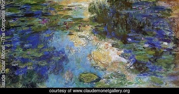 The Water-Lily Pond 1917-1919