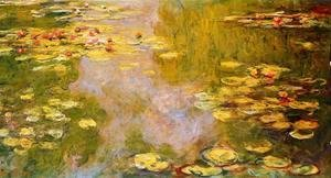 Claude Oscar Monet - The Water-Lily Pond 1919