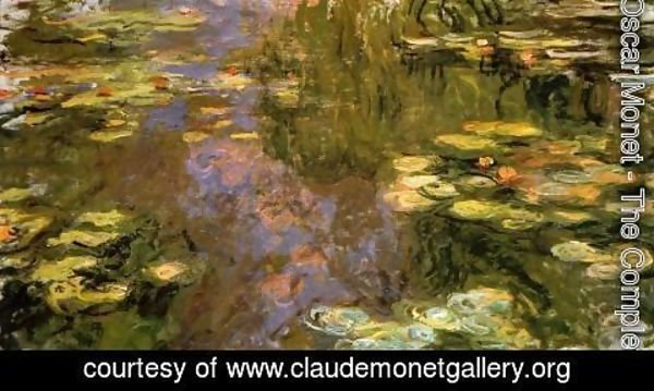 Claude Oscar Monet - The Water-Lily Pond1 1917-1919