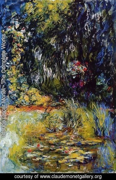 Claude Oscar Monet - The Water-Lily Pond1 1918-1919