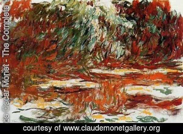 Claude Oscar Monet - The Water-Lily Pond2 1918-1919