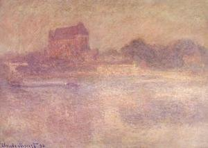 Claude Oscar Monet - Vernon Church in the Fog 1894