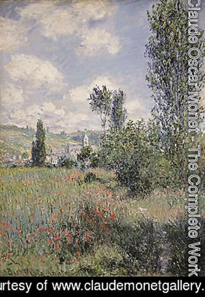 Claude Oscar Monet - View of Veheuil 1880