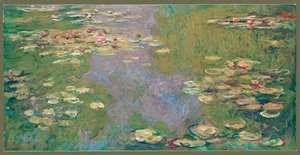 Claude Oscar Monet - Water Lilies 1919
