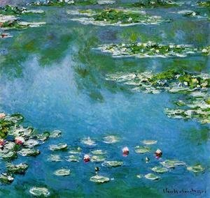 Claude Oscar Monet - Water-Lilies1 1906