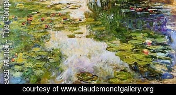 Claude Oscar Monet - Water-Lilies1 1917-1919