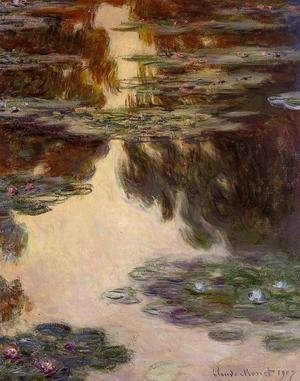 Claude Oscar Monet - Water-Lilies10 1907