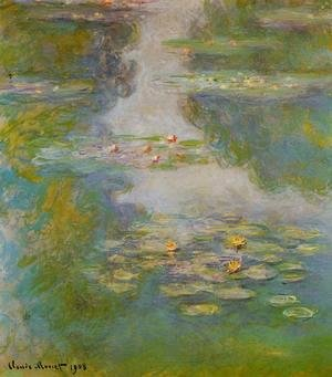 Claude Oscar Monet - Water-Lilies10 1908