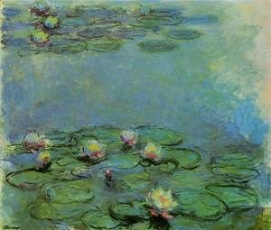 Claude Oscar Monet - Water-Lilies10 1914-1917