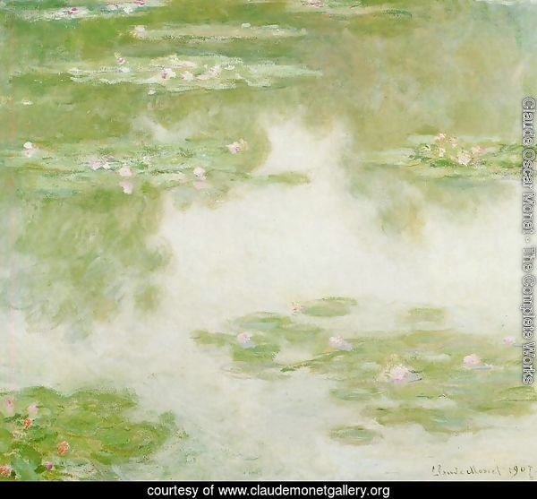 Water-Lilies11 1907