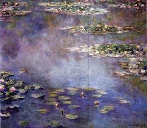 Claude Oscar Monet - Water-Lilies2 1906
