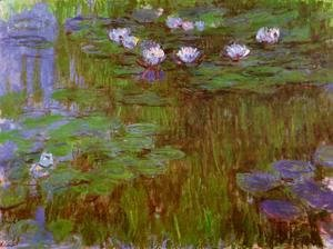 Claude Oscar Monet - Water-Lilies2 1914-1917