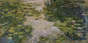 Claude Oscar Monet - Water-Lilies2 1917-1919