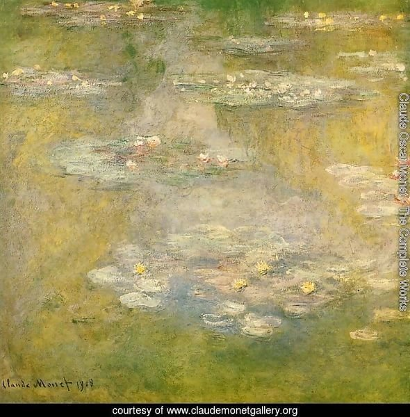Water-Lilies3 1908