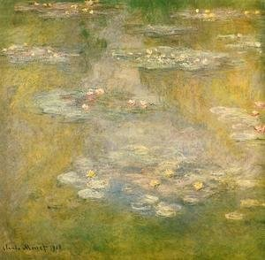 Claude Oscar Monet - Water-Lilies3 1908